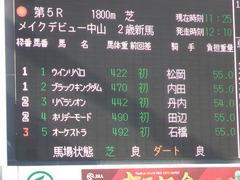 20171216 中山5R 2歳メイクデビュー リベラシオン 01