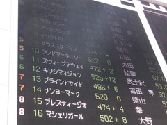 20161009 東京10R テレビ静岡賞(1600) ランドマーキュリー 01