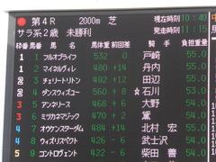 20161218 中山4R 2歳未勝利 ダンスウィズユー 01
