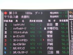 20150228 中山3R 3歳未勝利 ショウナンアイ 01