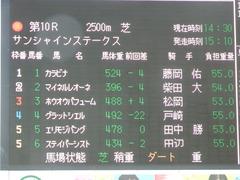 20180310 中山10R サンシャインS(1600) ホウオウパフューム 01