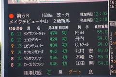 20191214 中山5R 2歳メイクデビュー サクセスバローズ 01