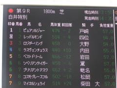 20150921 中山9R 白井特別  ロジダーリング 01