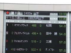 20141026 東京8R オウケンブラック 01