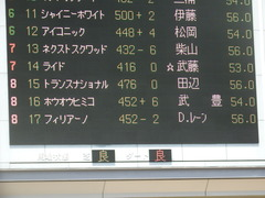 20190511 東京5R 3歳未勝利 ホウオウヒミコ 01
