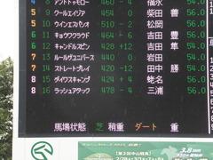 20150308 中山5R 3歳未勝利 ラッシュアタック 01