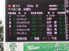20170408 中山5R 3歳未勝利 ジュンマシュウ 01