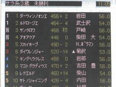 20160515 東京3R 3歳未勝利 ダイワレンジャー 01