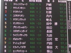 20161001 中山10R 習志野特別 オウケンブラック 01