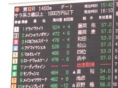 20171014 京都12R (1000) メイショウノボサン 01
