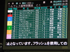20140622 大井8R メリーウェザー&ライトハーティド 01