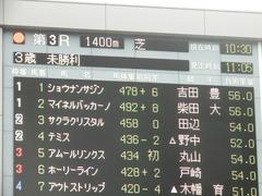 20190622 東京3R 3歳未勝利 ショウナンサジン 01