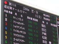 20160925 中山11R オールカマー(G2) サトノノブレス 02