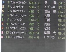 20150221 東京10R アメジストS(1600) アッシュゴールド 01