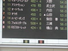 20180616 東京6R 3歳未勝利 ロジスカーレット 01