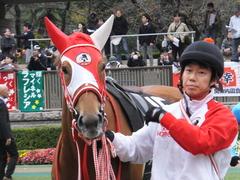 20151123 東京10R 鷹巣山特別 レーヌドブリエ 17