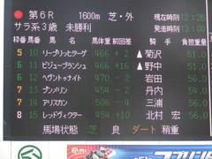 20170909 中山6R 3歳未勝利 プンメリン 01