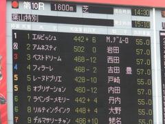 20170527 東京10R 葉山特別(1000) レーヌドブリエ 02