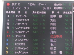 21060327 中山11R マーチS(G3) ショウナンアポロン 01