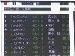 20161120 東京1R 2歳未勝利 メガポリゴン 01