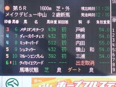 20171228 中山5R 2歳メイクデビュー 01