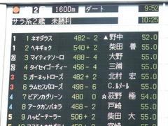 20171111 東京2R 2歳未勝利 マイティテソーロ 01