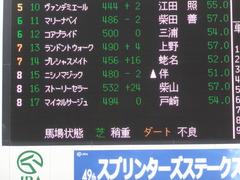20150926 中山7R 3歳上500万下 マイネルサージュ 01