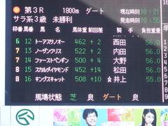20180107 中山3R 3歳未勝利 ノーザンクリス 01