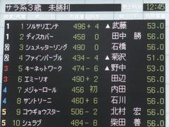 20170625 東京6R 3歳未勝利 ファインパープル 01