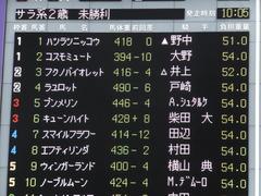 20161030 東京1R 2歳未勝利 プンメリン 02