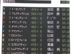 20150221 東京9R 4歳上1000万下 オウケンブラック 14