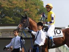 20151024 京都1R 2歳未勝利 サクレメジャー 09