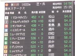 20171014 京都11R 清水S(1600) レーヌドブリエ 02