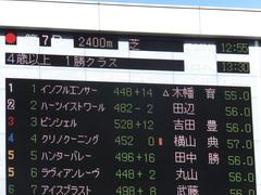 20200209 東京7R 4歳上1勝クラス ピンシェル 01