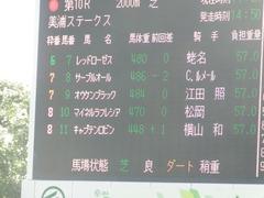 20180325 中山10R 美浦S(1600) オウケンブラック 01
