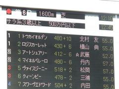 20181021 東京6R (500) ロジスカーレット 01