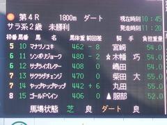 20181228 中山4R 2歳未勝利 ヤップヤップヤップ 01