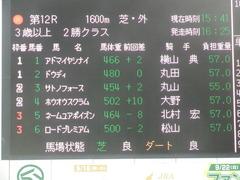 20190921 中山12R 3歳上2勝クラス 01