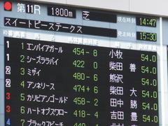 20170430 東京11R スイートピーS 3歳牝馬OP ミザイ 01