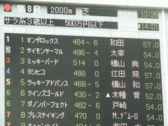 20180617 東京8R (500) ミッキーバード 01