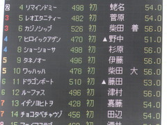 20170218 東京2R 3歳メイクデビュー タネノオー 01