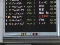 20141129 東京6R 3歳上500万下トレジャーマップ 01