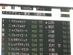20190209 東京3R 3歳未勝利 シホノフォルテ 01