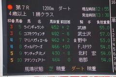 20200126 中山7R (1勝クラス) ヴァルドワーズ 01