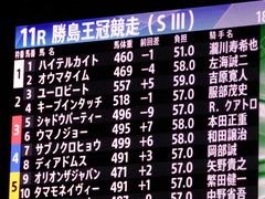 20171129 大井11R 勝島王冠(S3) ユーロビート 01