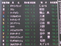 20151004 中山9R サフラン賞 2歳500万下 テイケイレーヴ 01