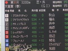 20140504 京都11R 天皇賞春 サトノノブレス 02