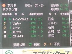 20180930 中山9R サフラン賞 2歳牝馬500万下 ポリアンサ 01