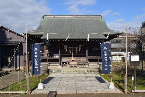 日吉八王子神社 拝殿ブログ用
