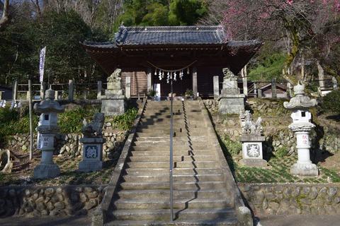 氷川神社拝殿 ブログ用